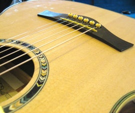Acoustic Guitar Setup