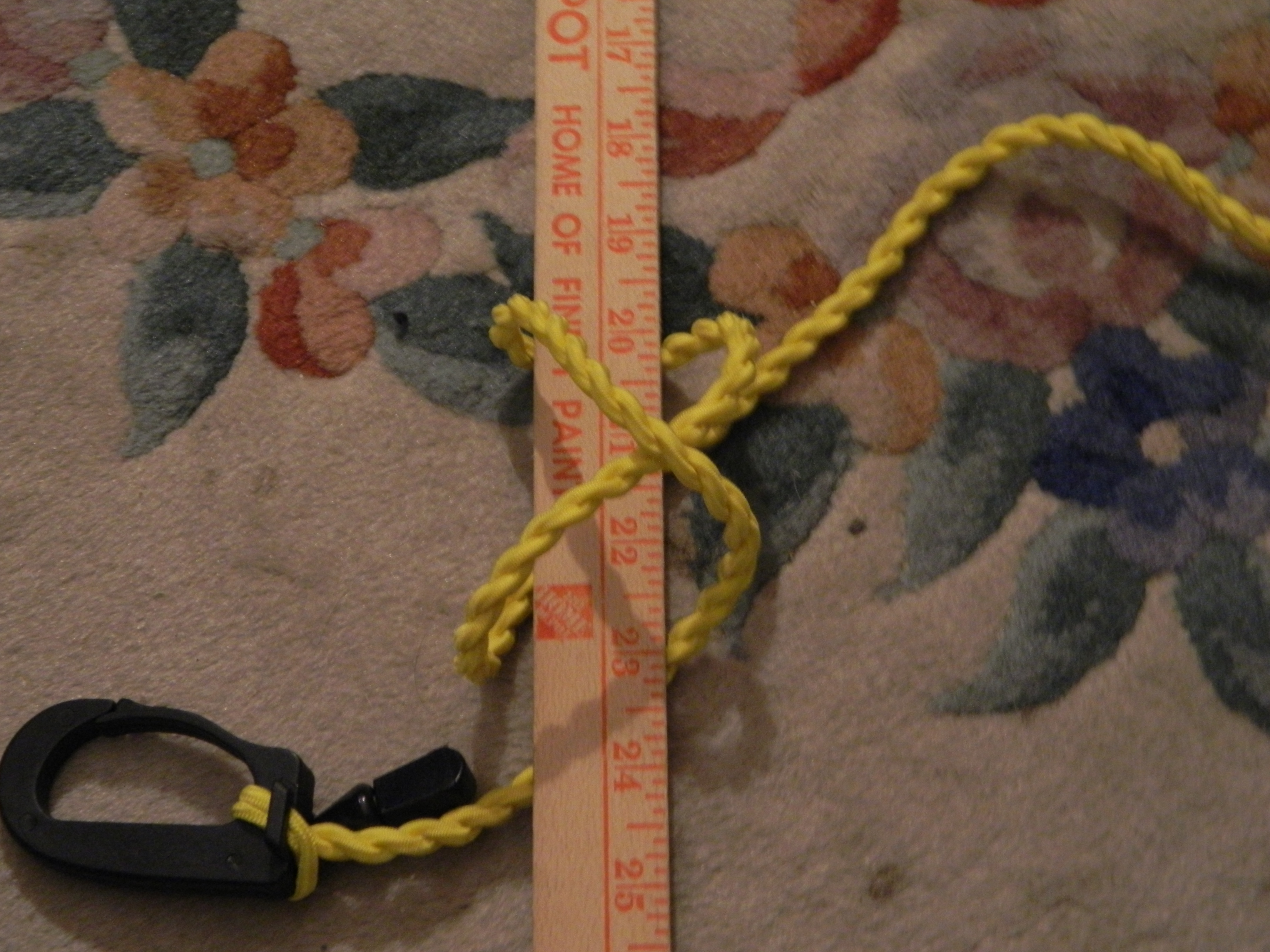 Picture of First, Tie a Clove Hitch Like Shown
