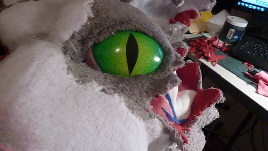 Jean Paul of the Dead (The Making of a Zombie Cat Mask)
