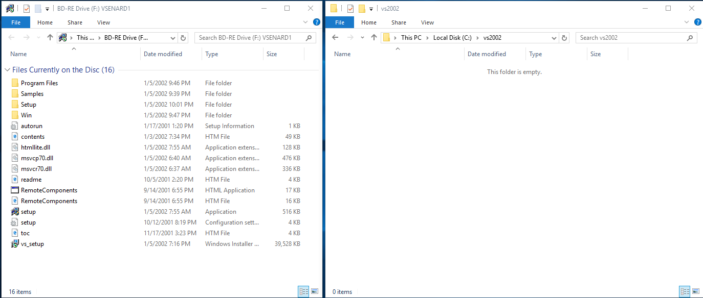 Picture of Copy Files From CDs to Temporary Folder