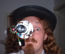 Laser Monocle Headpiece