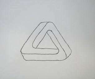 Draw a Penrose Triangle Free-hand