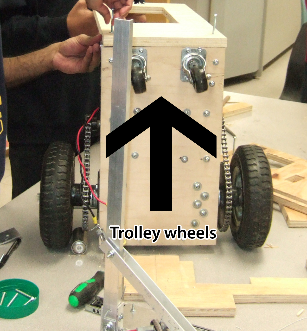 Picture of Mounting the Wheels