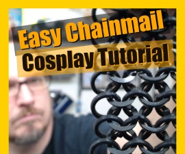 Cosplay Chainmail Tutorial Using Spare 3d Printer Filament