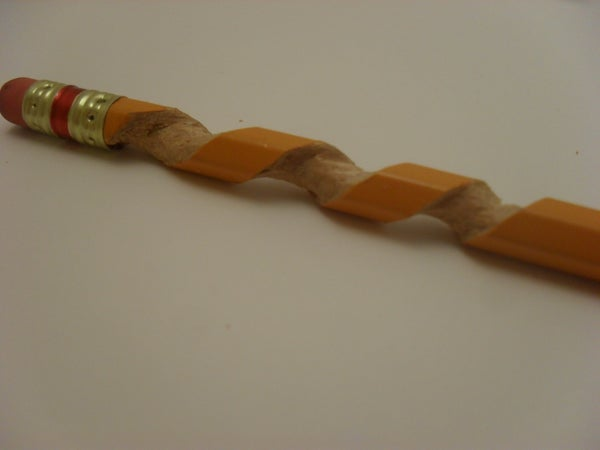 How to Make a Spiral Pencil