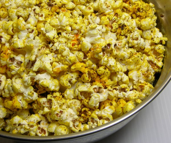Super Easy Superfood Popcorn