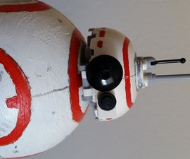 BB8 built with Lego Star Wars parts... And yet it moves at the end of this tutorial