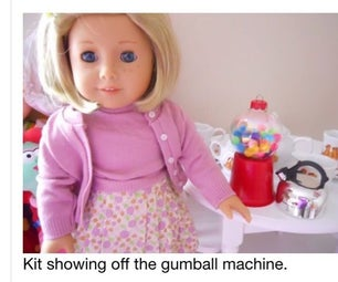 How to Make a Doll Gumball Machine