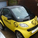 How to remove the front of a smart car to replace headlights headlamps bulbs