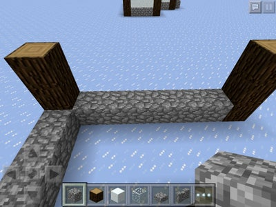 Fill the Spaces Between the Logs With Cobble