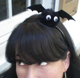 Bat in the Belfry Headband How-to
