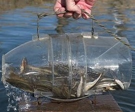 How to make a fish trap in 30 sec