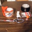 survial belt and prop