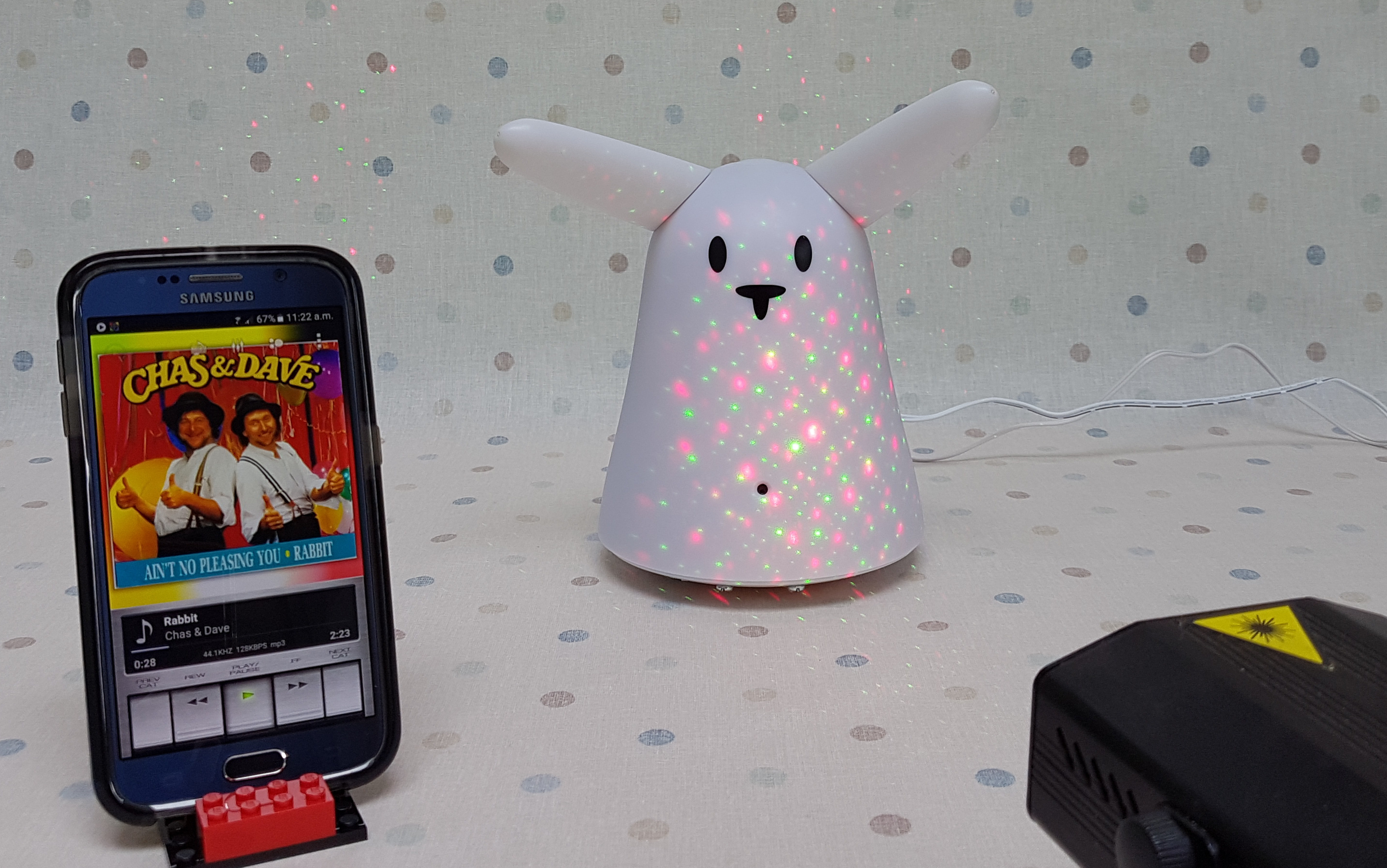 Picture of RabbitPi - the Alexa Enabled, IFTTT Connected, Ear-Wiggling IoT Assistant