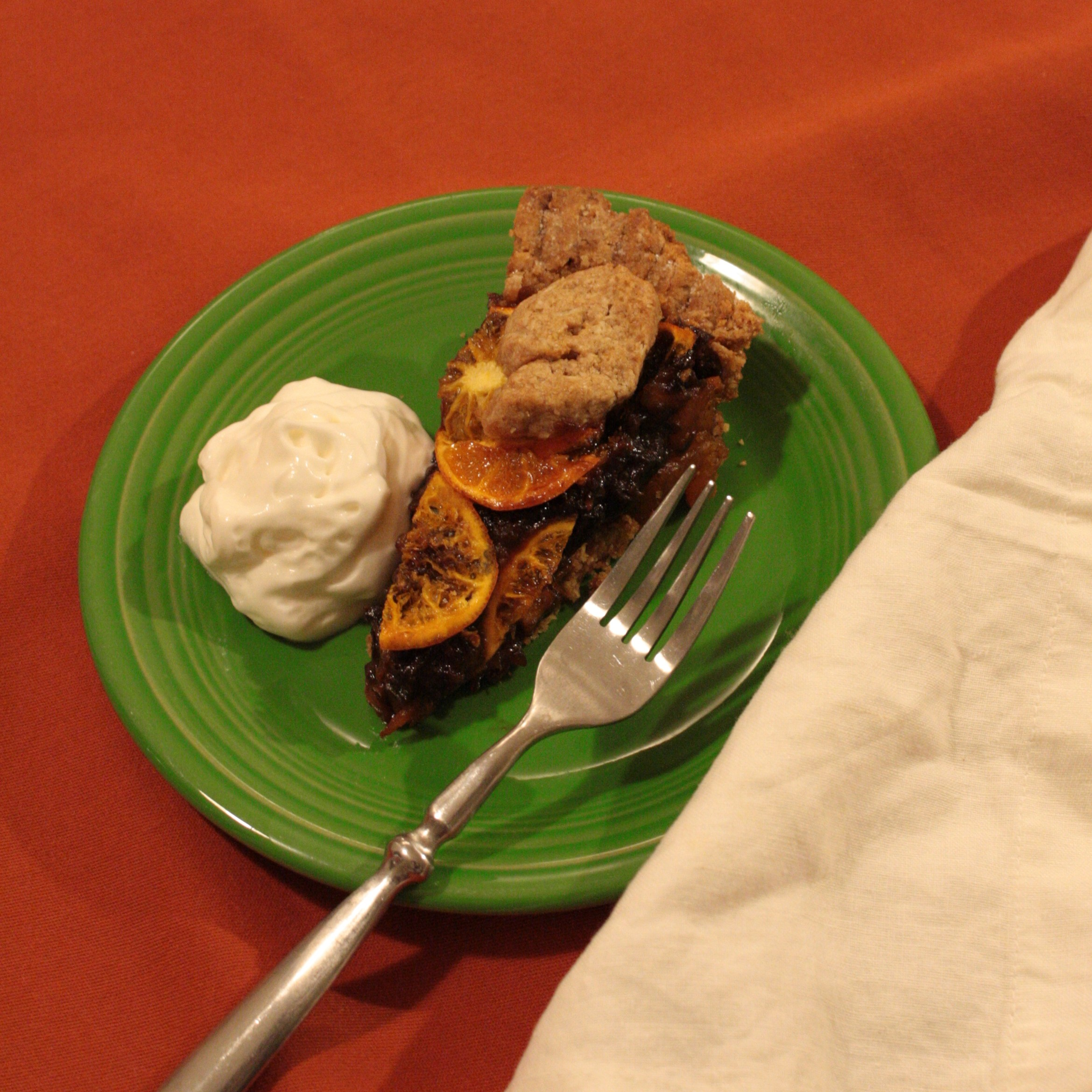 Picture of Pi Day 2014: Feynman Nine Clementine-Mincemeat Pi(e)