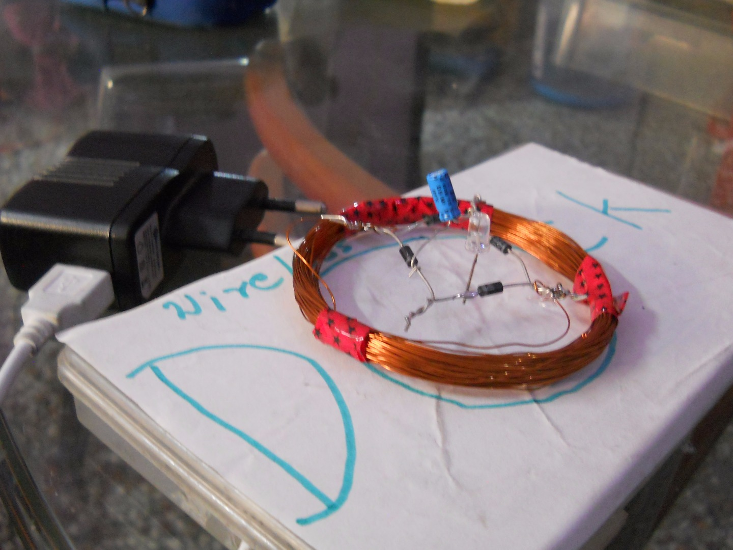 Picture of Wireless Electricity Transmission Using AVRs for AVRs