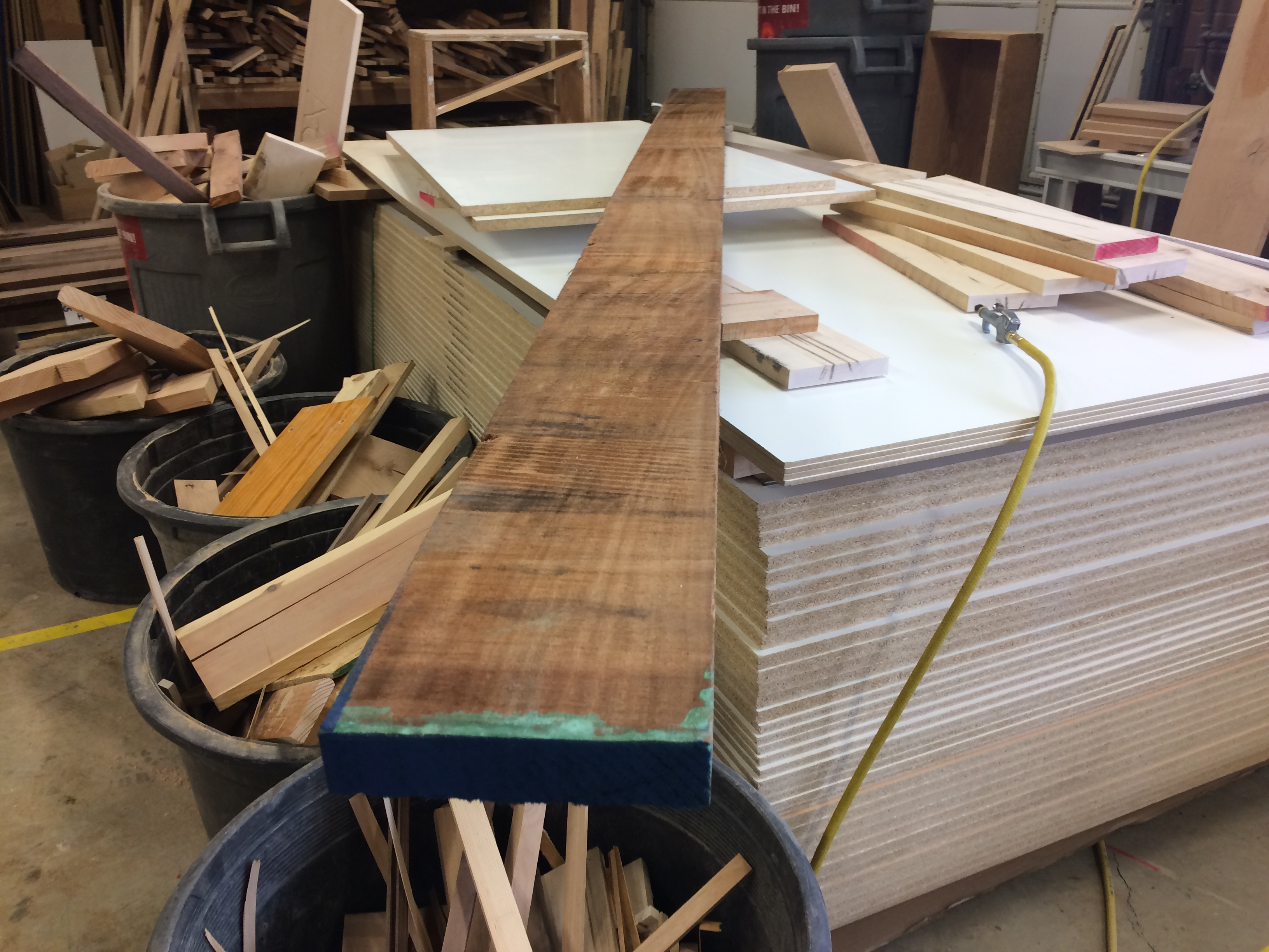 Picture of Preparing Wood for Cutting