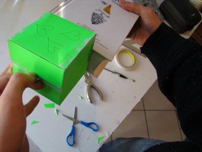 Self Pop-up Cubic Card