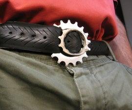 Bike Tire and Gear Belt