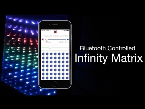 LED Infinity Matrix - Bluetooth Controlled