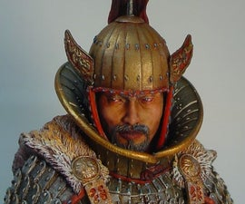 Painting a Goguryeo Officer