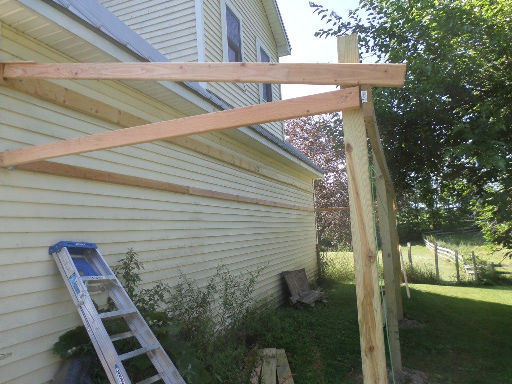 How To Build A Lean To Shed 8 Steps With Pictures