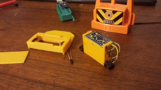 BLINKING  DUPLO LEGO TRAIN