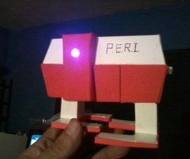 "Video Prop. Small Robot ""P.E.R.I"""