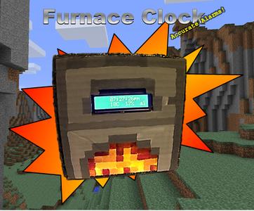 Minecraft Glowing Furnace Clock W/Arduino Nano