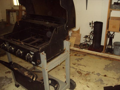 Disassemble the Grill
