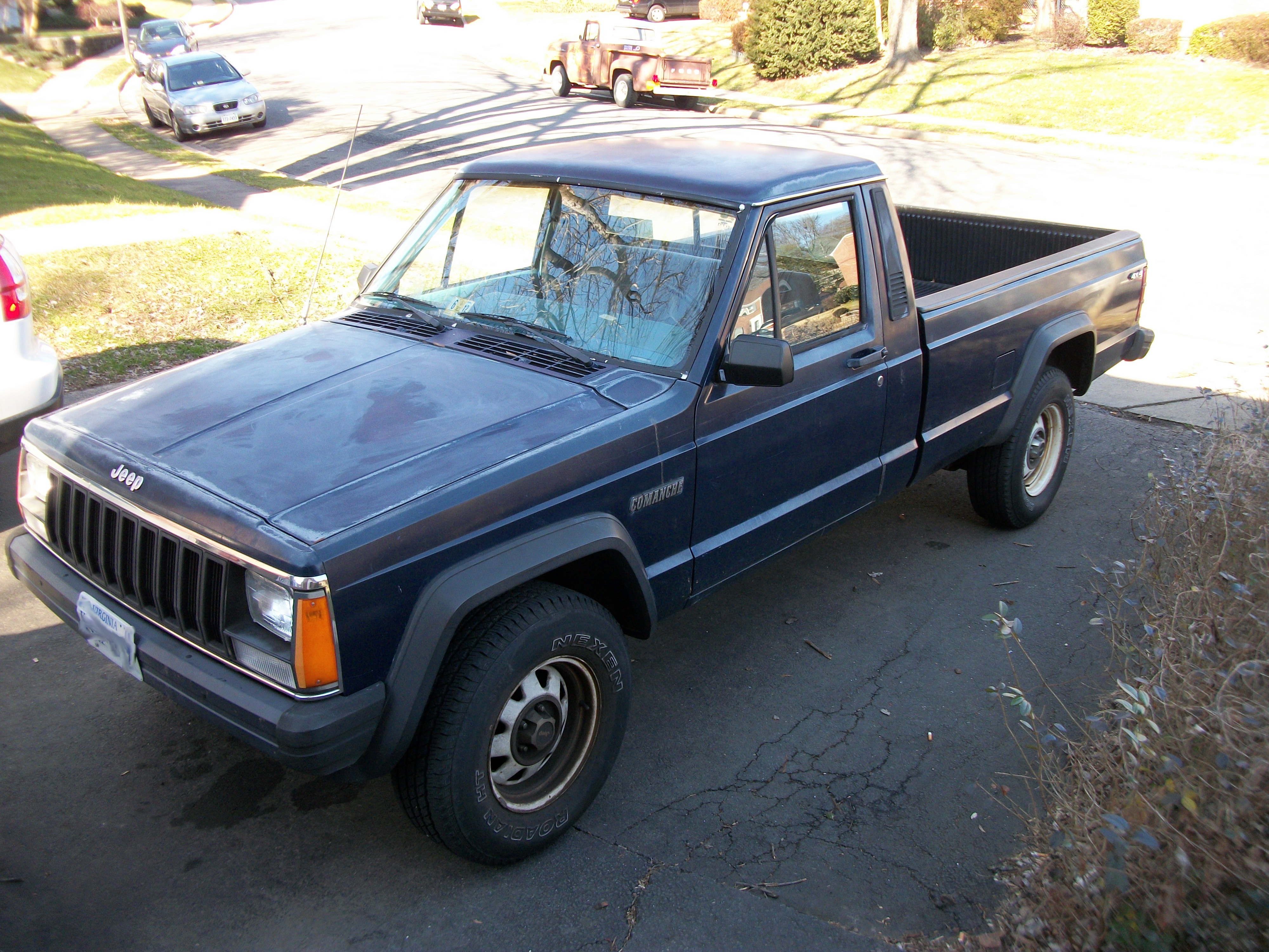 Picture of Jeep Comanche Spare Tire Carrier Repair
