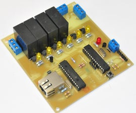 A Remotely Programable Relay Controller (Christmas Lights or Home Automation Controller)