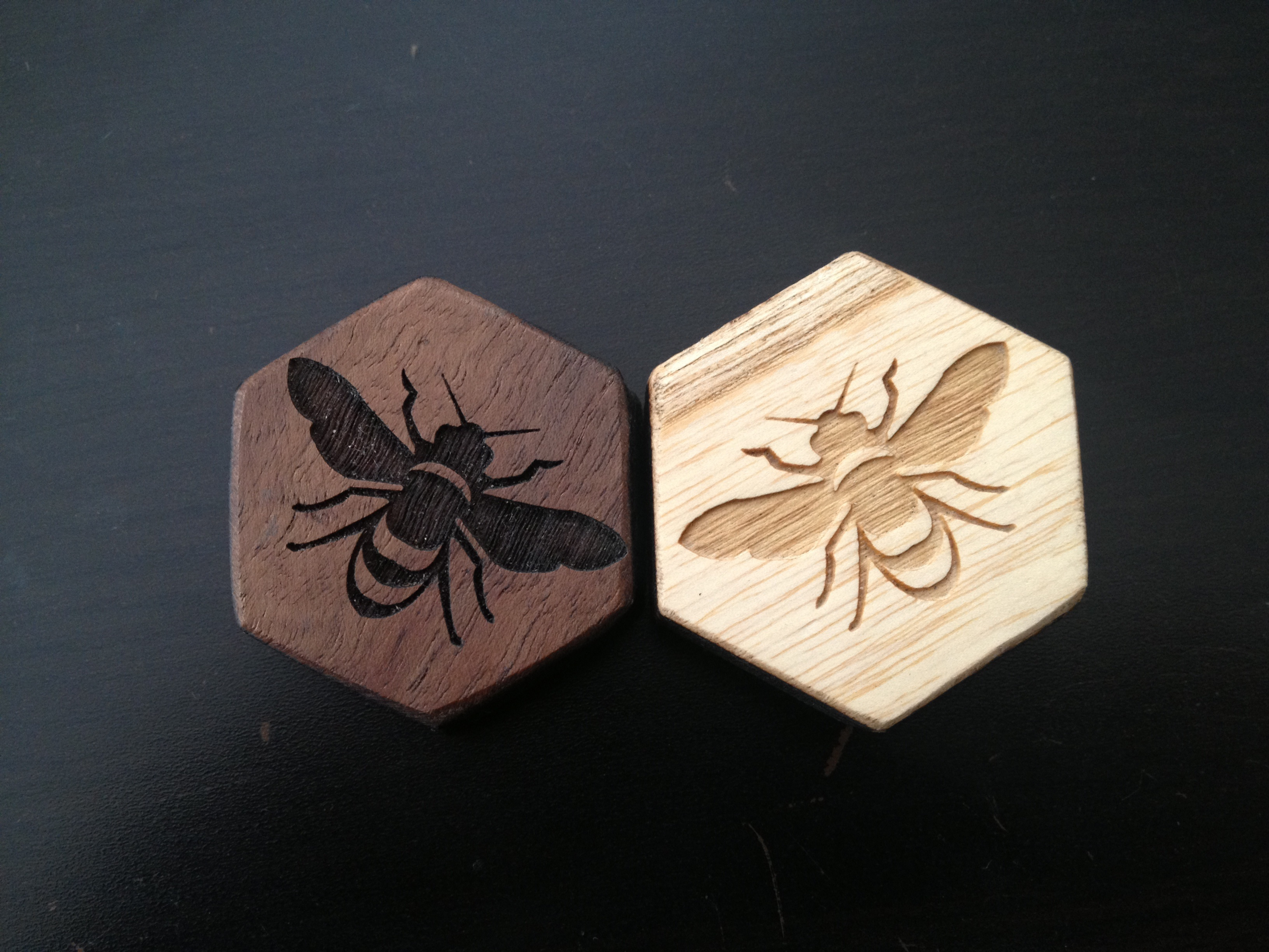 Picture of Custom Wood and Metal Hive Set (boardgame)