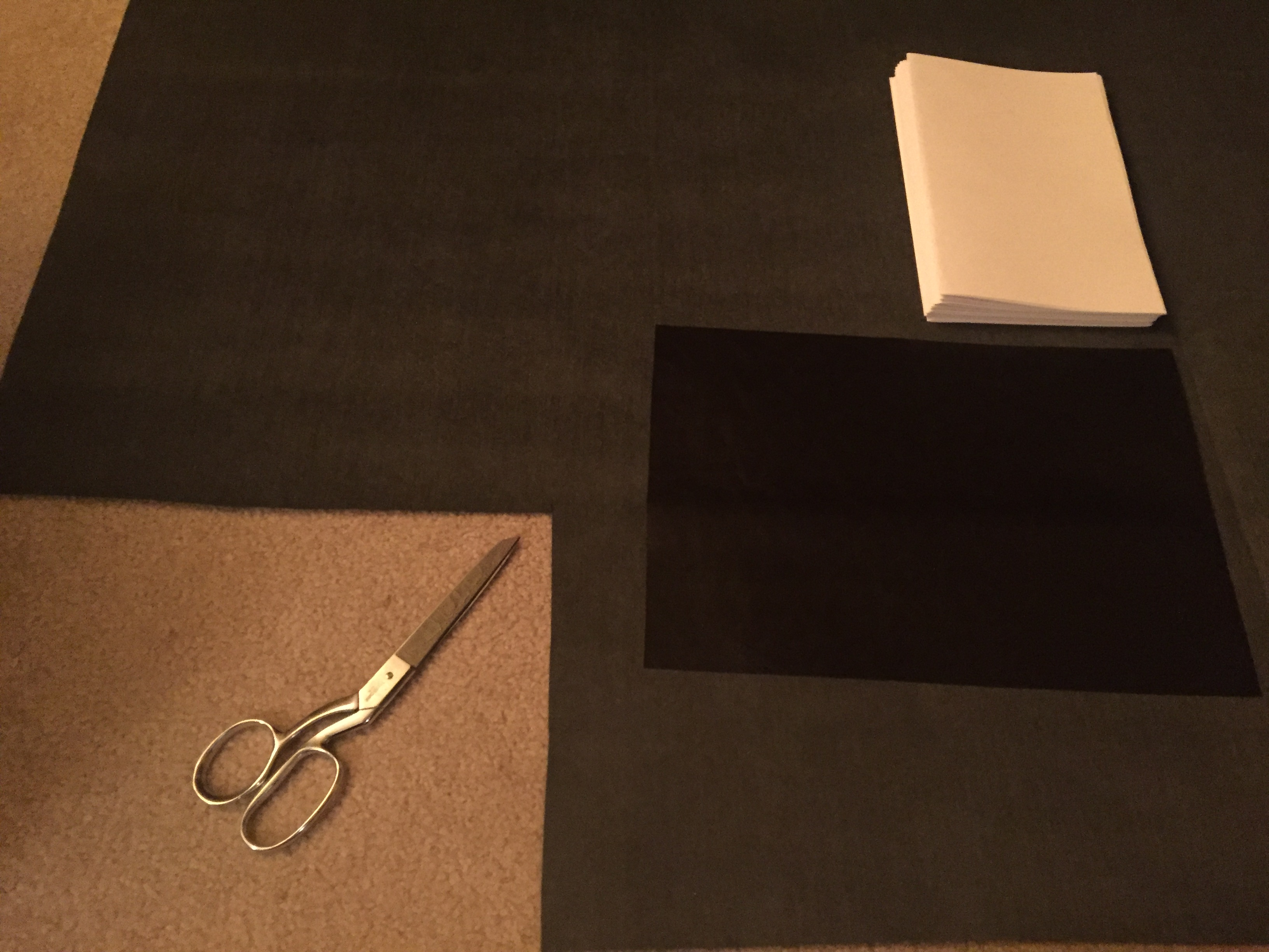 Picture of Cut Material for the Cover