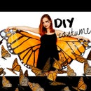 DIY Halloween costume! Monarch butterfly | Under 3$ with garbage bags!?