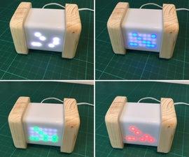 Pi Zero Binary Clock