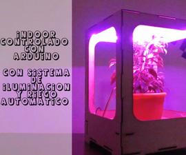 Indoor Con Riego E Iluminación Automático Utilizando Arduino