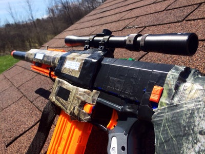 Nerf Retaliator SuperTak Modifications