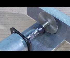 Homemade Mini Circular Table Home Built Jig Saw DIY Cutting PCB With Collet ER11