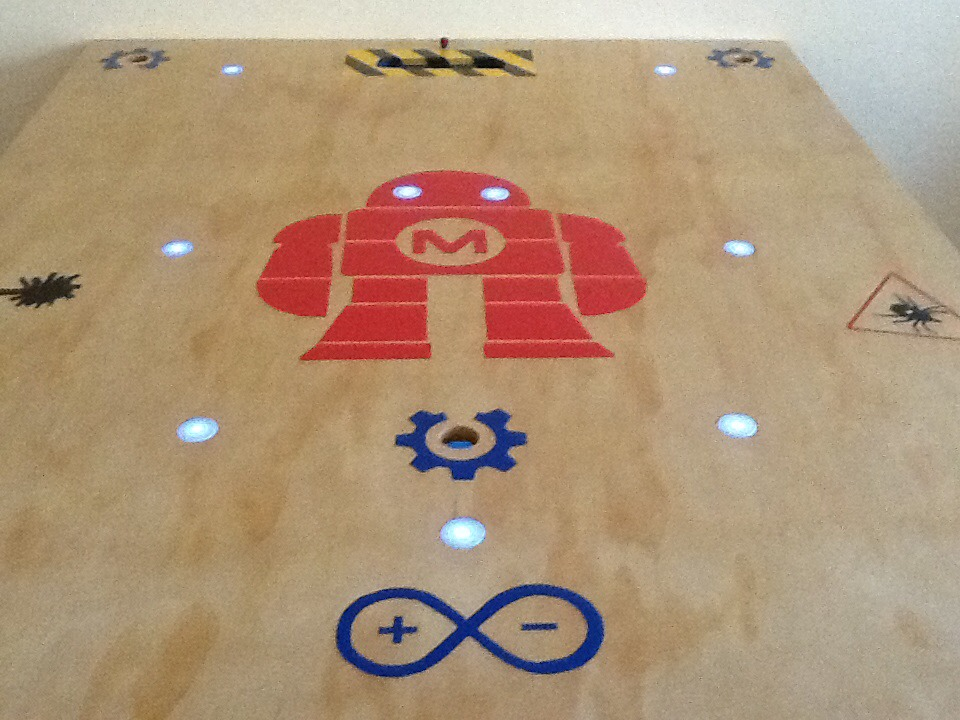 Picture of How to Construct a Maker Space Table...