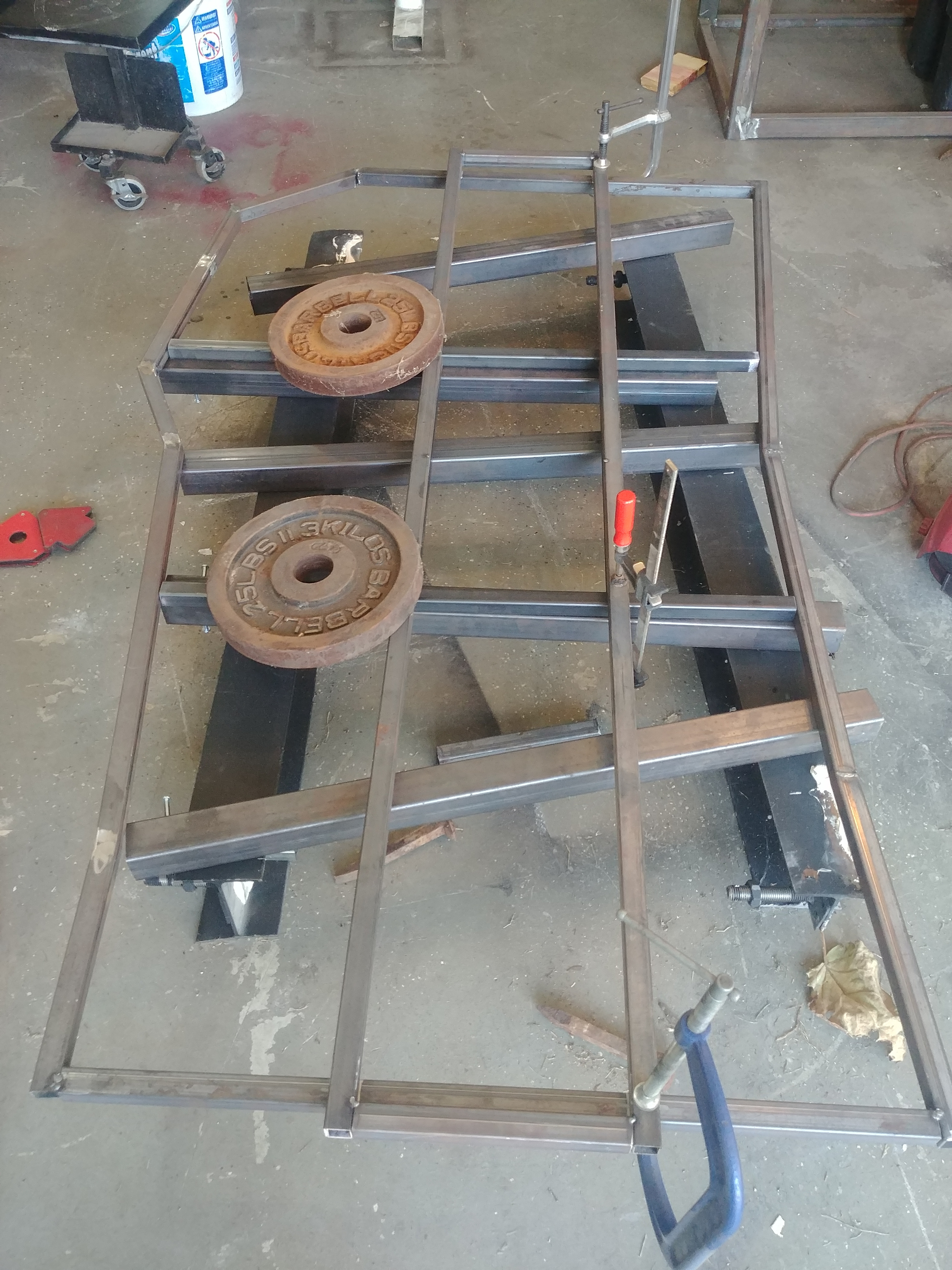 Picture of Making the Frame for the Top
