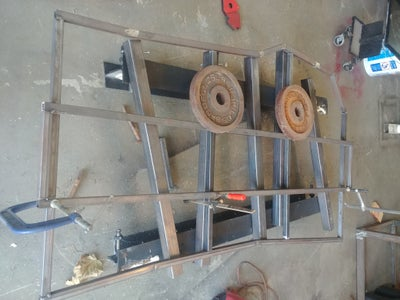 Making the Frame for the Top