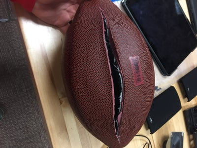 Prepping the Football