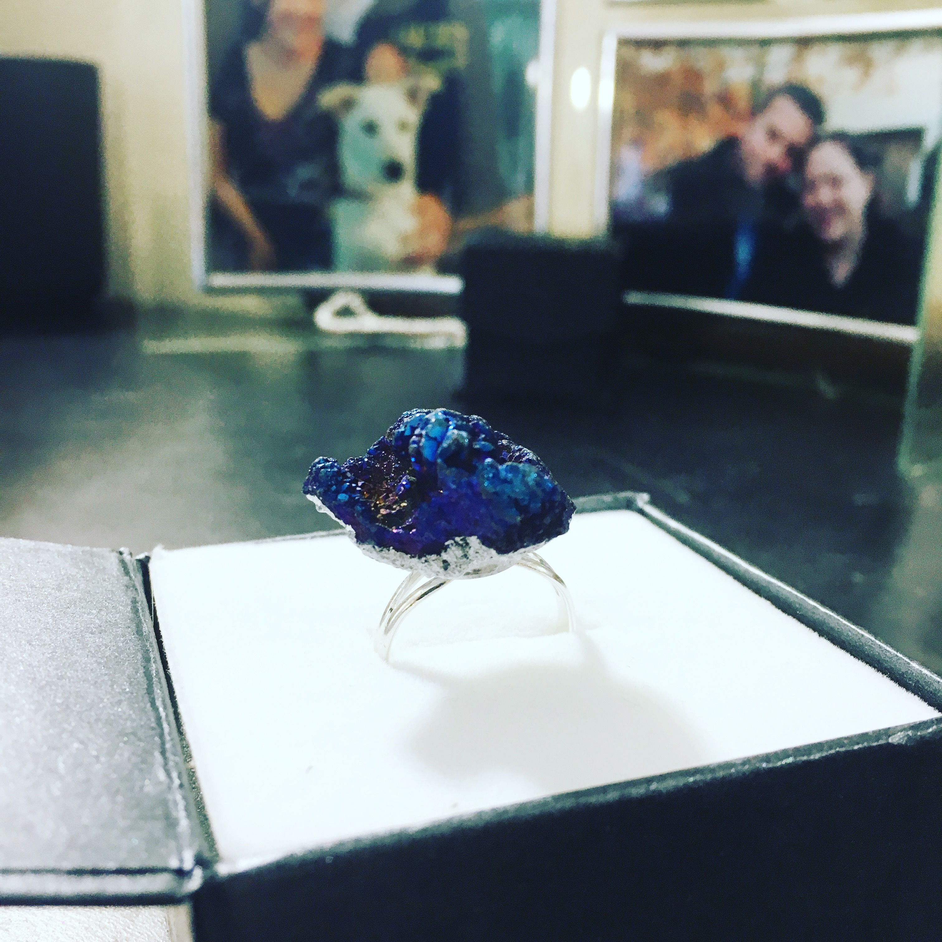 Picture of Geode Statement Ring