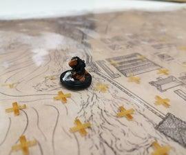 Laser Engraved Terrain Sleeves for Tabletop Gaming