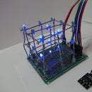 3D Tic-Tac-Toe on a Led Cube