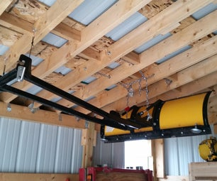ATV Snow Plow Rafter Storage