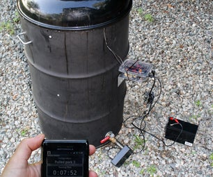 Tweeting, Wireless, Ugly Drum Smoker (UDS) Temperature Controller Using Android