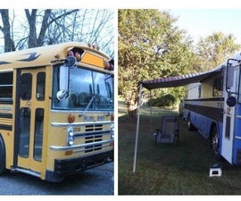 My Bluebird School Bus Project