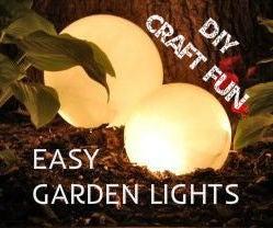 EASY GARDEN LIGHTS [<10$] [< 5 Min. To Make]